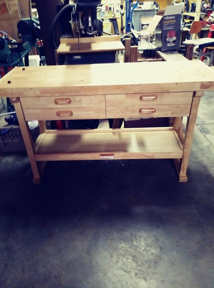 Wood Workers Bench