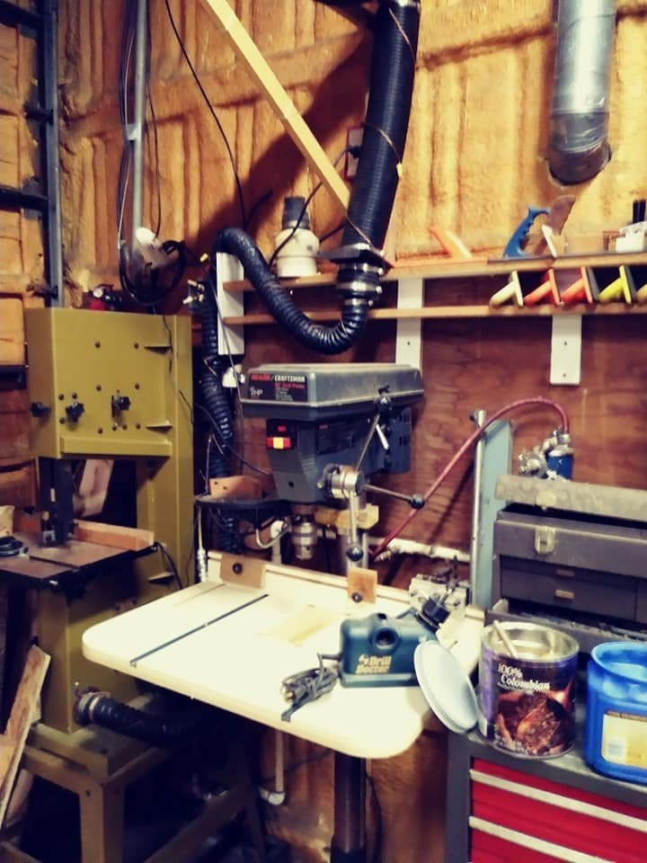 Band Saw - Drill Press